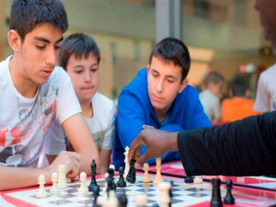 Campamento ajedrez deporte comedor Madrid 1 sem