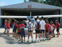 Visit the Escolar al aerodorome