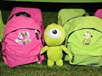 Mascota y mochilas