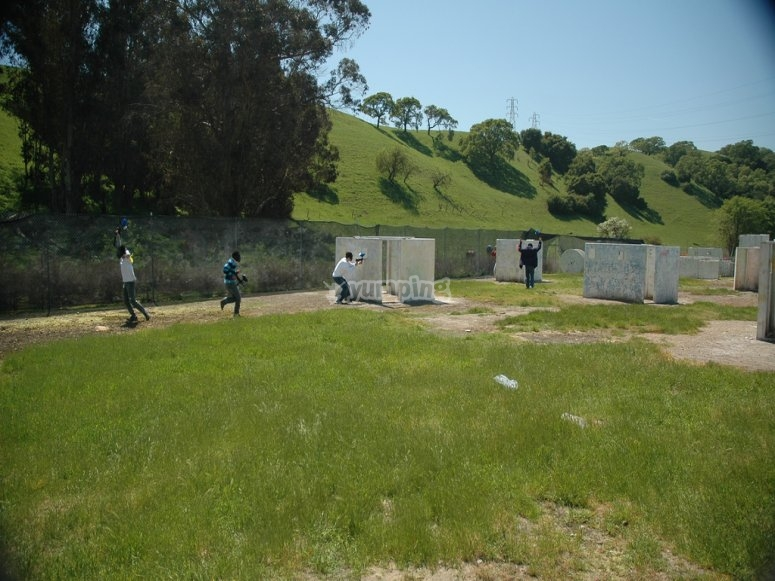 paintball en la fuente del fresno