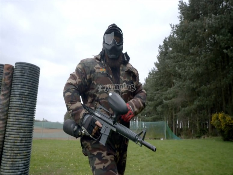 Paintball à Ciudad Real