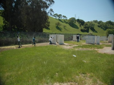 Paintball game Fuente del Fresno 300 balls