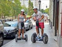 En pareja en el centro de Madrid