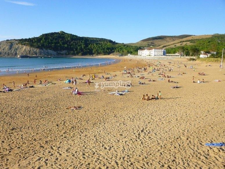 Biscay beach