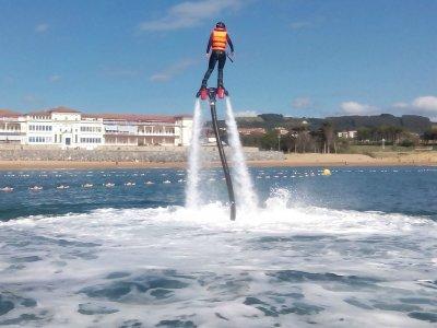 Flyboard en Gorliz con vídeo