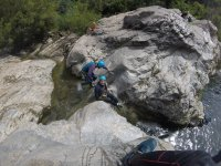 Faire du canyoning