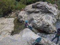 Canyoning à Malaga