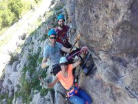 Fun with the via ferrata