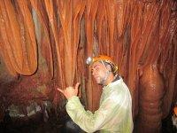 Connaître l'intérieur de la grotte