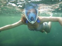 Snorkel with full mask
