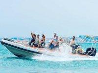 Acelerando el jetboat