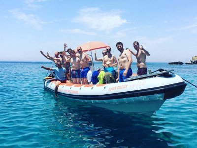 Party en speed boat con niños en Alicante 2h 30min