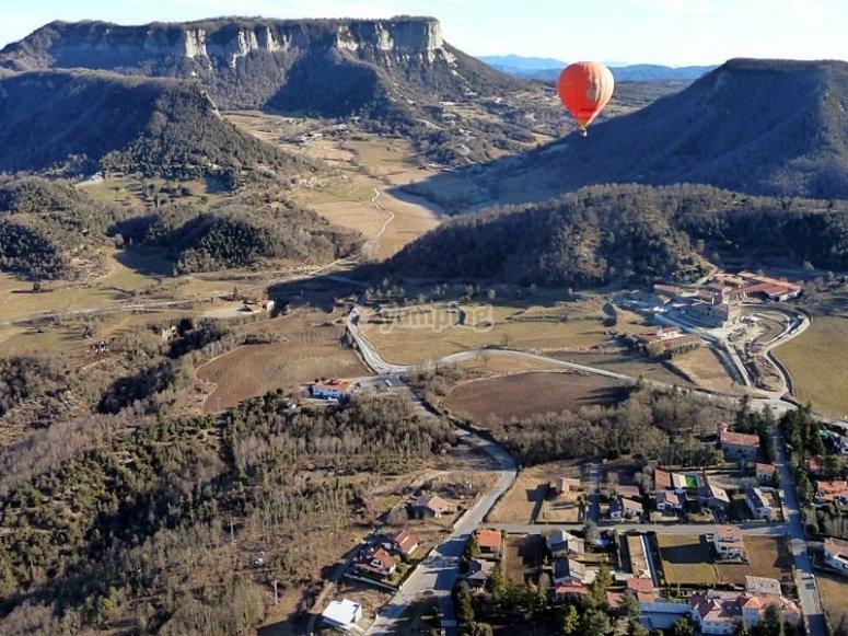 气球飞行的观点