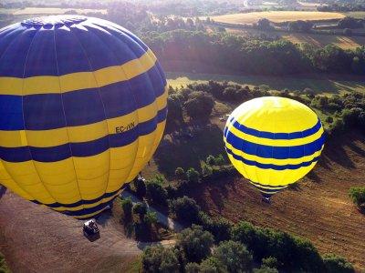 巴塞罗那维克的气球飞行2小时