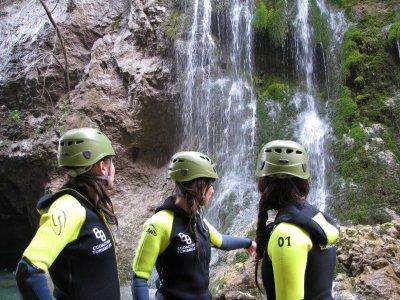 Curso barranquismo y descenso en Sierra de Cazorla