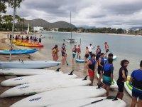 Corso di paddle surf ad Alcúdia