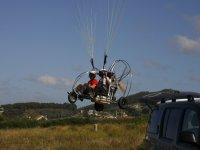 vuelos de paramotor