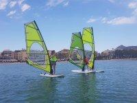 Classe di windsurf ad Alcúdia