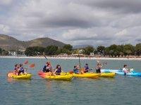 Escursione in kayak con bambini Alcúdia
