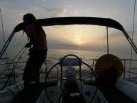 航线开航帆船兰萨罗特