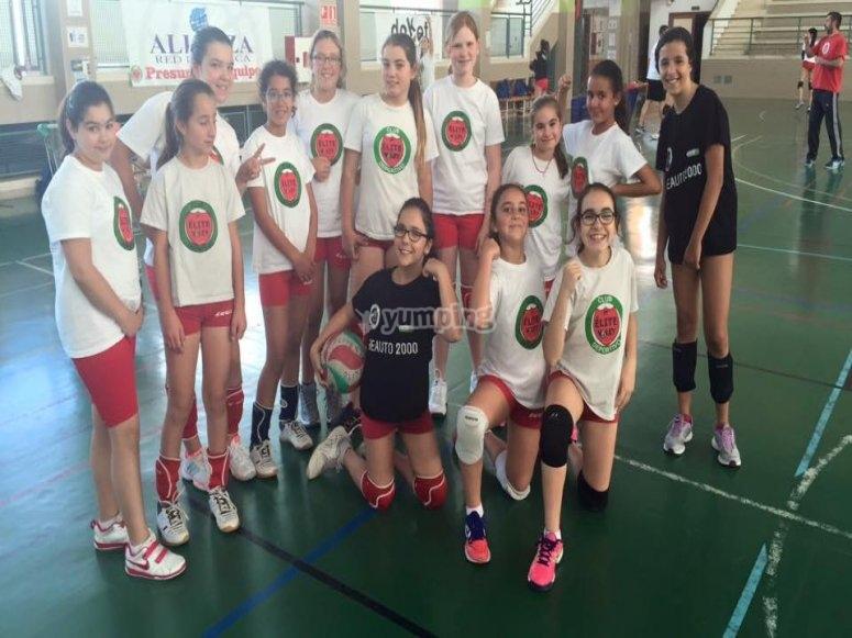 Girl team