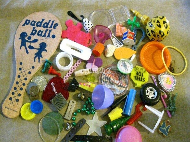 Recycling toys