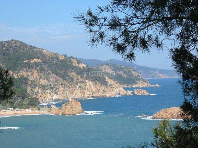 Costa brava paisaje