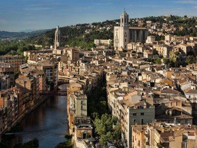 Alquiler bici Girona con portabebé 4h