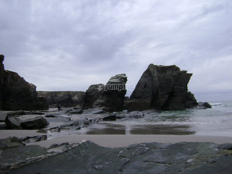 Playa catedrales
