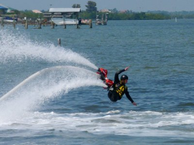 Jet ski and flyboarding, Barcelona, 40 minutes