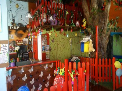 Playroom for birthday parties in Ogíjares + snacks