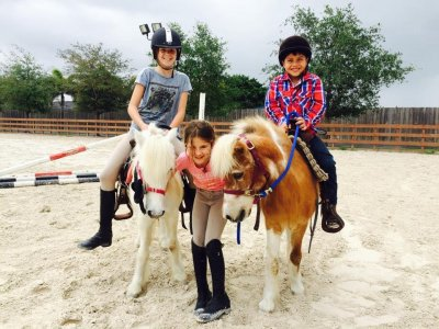 Weekly horse riding camp Cánoves-Montseny (July)