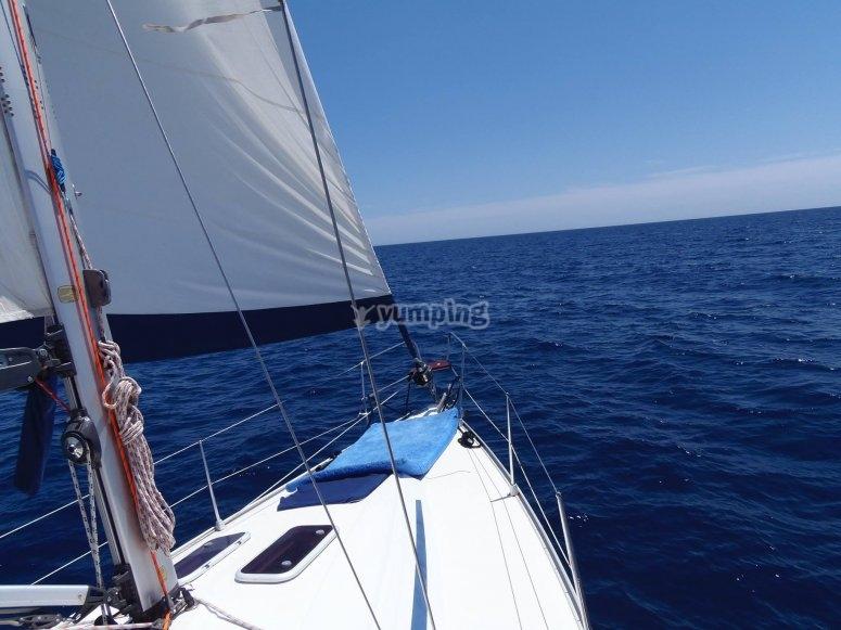 Nagegando hacia Tabarca