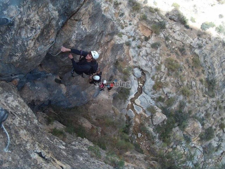 via ferrata en Almeria