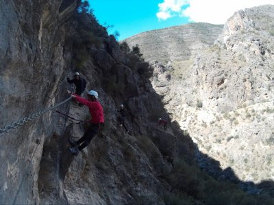Via ferrata ad Almería, 5 ore