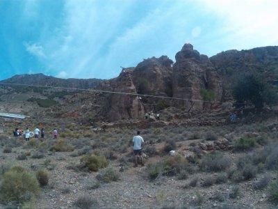 Dalias的攀岩,绳降,射箭,高空滑索