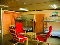 Lounge with bunk beds