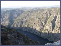 Sil river landscape