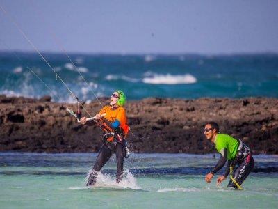 Curso de Kite surf en Corralejo en Fuerteventura