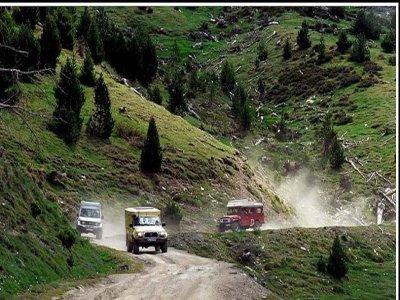 Mushing Pirineus Rutas 4x4