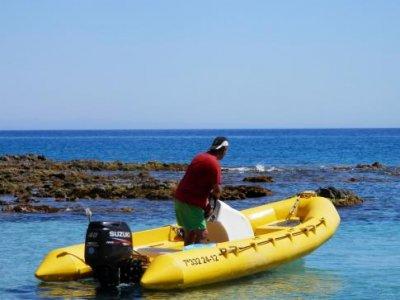 Paseo en zodiac en el Cabo de Gata 1 h