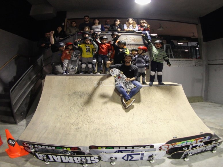 Equipo de skaters