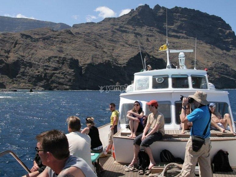 Ruta de observación de cetáceos