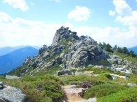 Climbing from Cercedilla