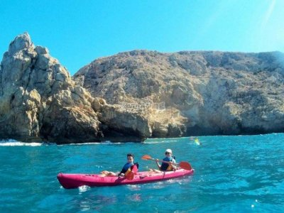 Noleggio kayak individuale di Cabo de Gata 2h