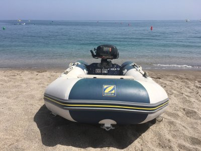 2h Zodiac Rental for 4 People, Cabo de Gata