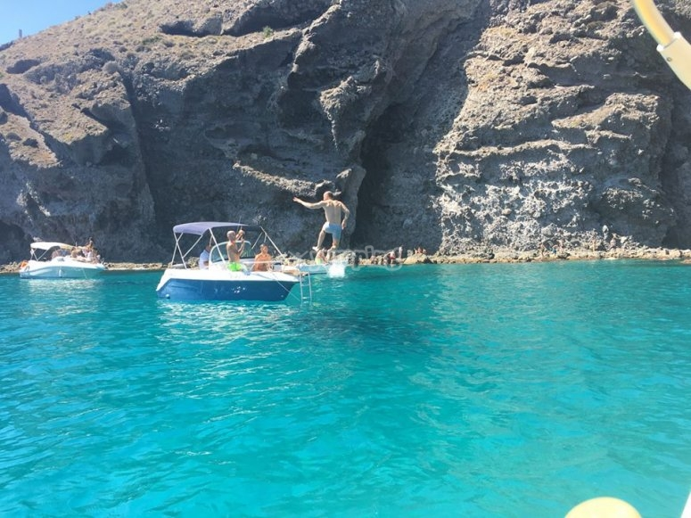 乘船游览Cabo de gata