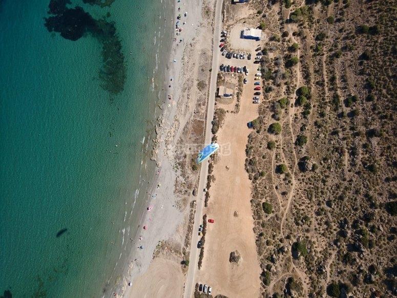 Costa de Santa Pola desde el aire