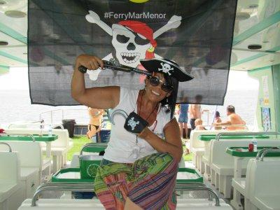 Pirate Party per bambini nel Mar Menor Ferry