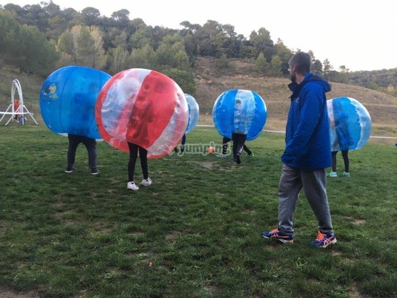 Air balloons war